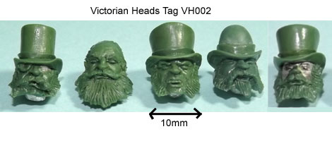 olleys armies victorian heads tag 2