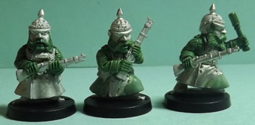 Kickstarter funded prussian army scrunts aka dwarf