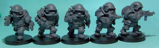olleys armies, scrunt tactical assault troops